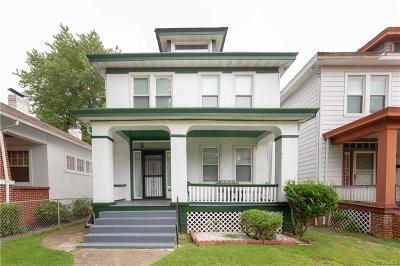 Richmond Single Family Home For Sale: 3403 Garland Avenue