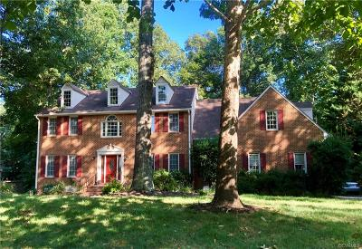 Mechanicsville Single Family Home For Sale: 9127 Sycamore Hill Place