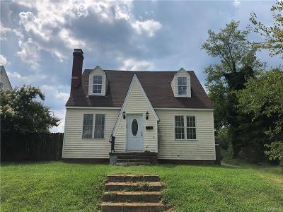 Richmond Single Family Home For Sale: 8 E 29th Street
