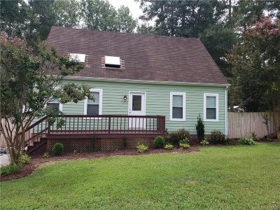 Chesterfield County Single Family Home For Sale: 3203 Sylvania Place