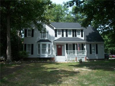 Chesterfield County Single Family Home For Sale: 6600 Turngate Road