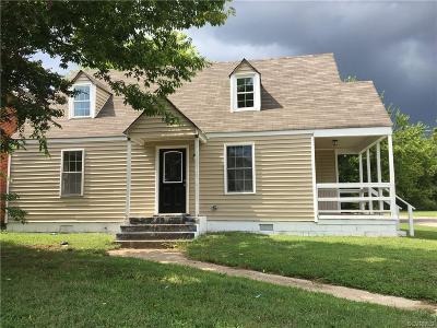 Hopewell Single Family Home For Sale: 625 E Broadway Avenue