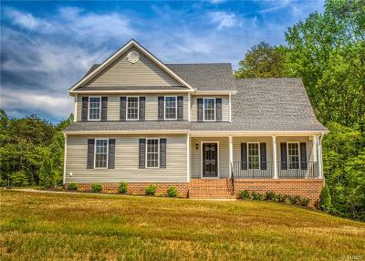 Powhatan Single Family Home For Sale: Haleford Court
