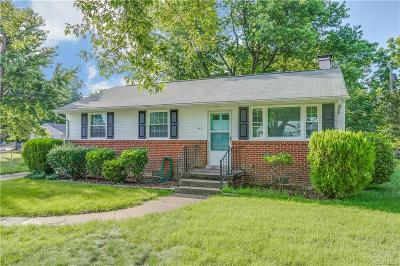 Henrico County Single Family Home For Sale: 4711 E Caryhurst Road