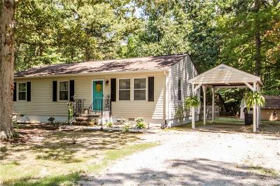 Dinwiddie County Single Family Home For Sale: 11417 Patillo Road