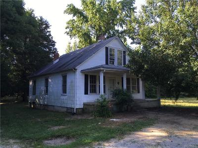 Goochland Single Family Home For Sale: 1749 Cartersville Road