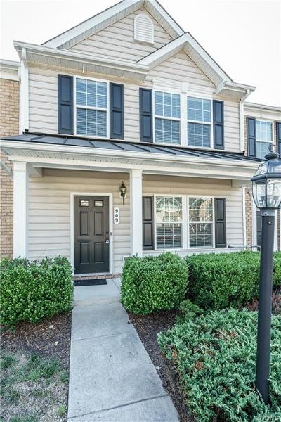 Hanover County Condo/Townhouse For Sale: 909 Kitty Hamilton Circle