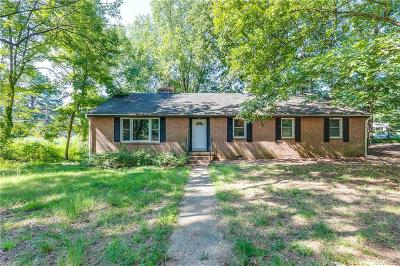 Henrico County Single Family Home For Sale: 9311 Wishart Road
