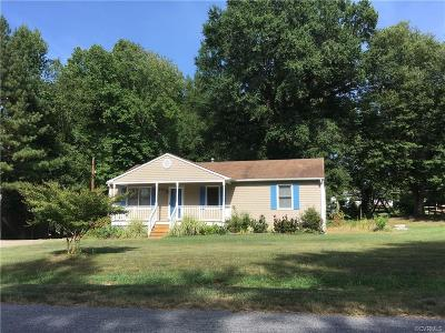 Dinwiddie County Single Family Home For Sale: 3917 Chesdin Boulevard
