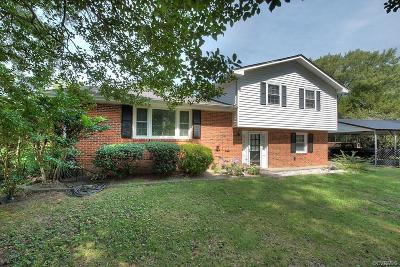 Chester Single Family Home For Sale: 4200 Treely Road