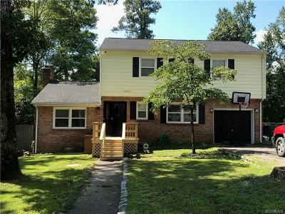 Petersburg Single Family Home For Sale: 810 S Park Drive
