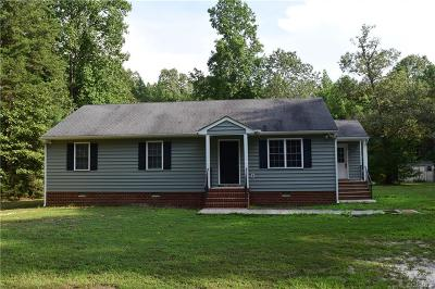 Aylett Single Family Home For Sale: 1556 Epworth Road