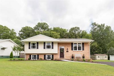 Colonial Heights VA Single Family Home For Sale: $306,990