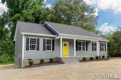 Powhatan Single Family Home For Sale: 2883 Trenholm Road