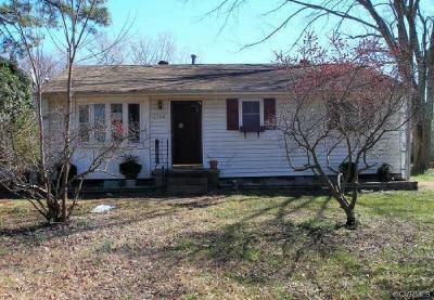 Hopewell Single Family Home For Sale: 3408 Western Street
