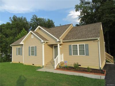 Dinwiddie County Single Family Home For Sale: 24905 Creek Lane
