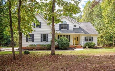 Powhatan County Single Family Home For Sale: 1394 Palmore Road