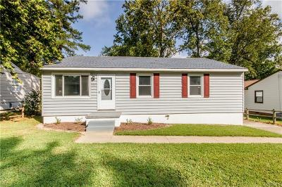 Dinwiddie Single Family Home For Sale: 3203 Belmont Avenue