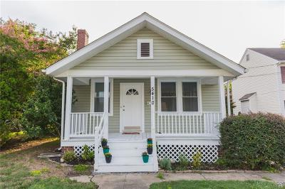 Henrico Single Family Home For Sale: 5410 Bloomingdale Avenue