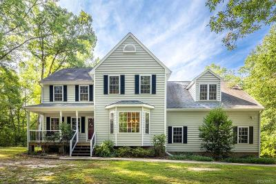 Mechanicsville Single Family Home For Sale: 2031 Piping Tree Ferry Road