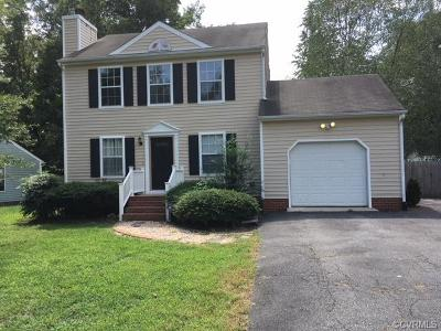 Dinwiddie Single Family Home For Sale: 14126 Bermuda Point Court