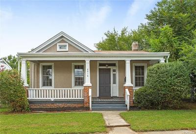 Richmond Single Family Home For Sale: 2016 National Street