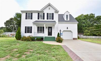 Henrico Single Family Home For Sale: 9712 Luscombe Lane