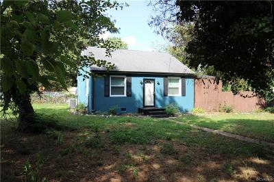Richmond Single Family Home For Sale: 5400 Linwood Avenue