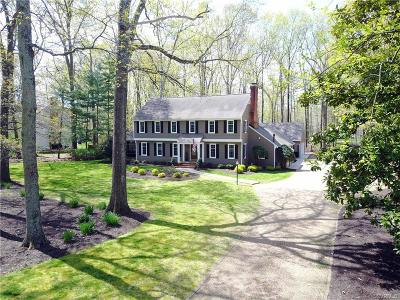 Midlothian Single Family Home For Sale: 2830 Queenswood Road