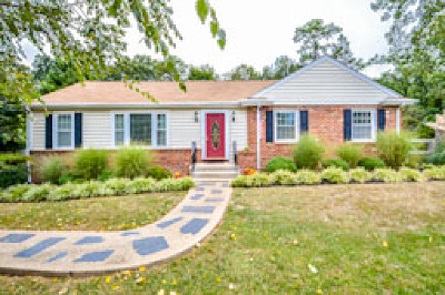 Single Family Home For Sale: 8600 Oakcroft Drive
