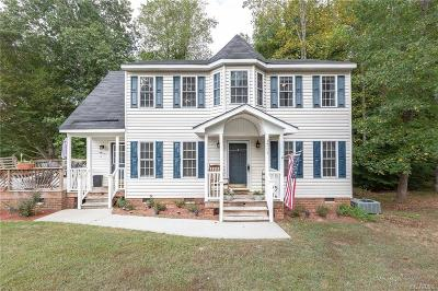 Dinwiddie Single Family Home For Sale: 3713 E Autumn Drive
