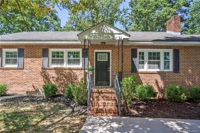 Chester Single Family Home For Sale: 3700 Dogwood Avenue
