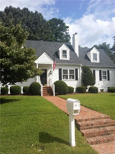 Hopewell Single Family Home For Sale: 3011 W Broadway
