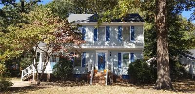 Chester Single Family Home For Sale: 6300 Oldbern Road