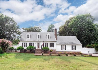Chester Single Family Home For Sale: 10208 Hopkins Road