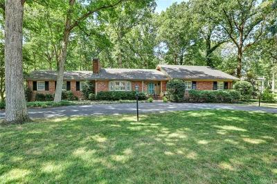 Richmond Single Family Home For Sale: 310 Tarrytown Drive