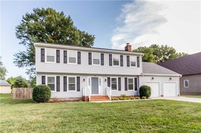 Colonial Heights Single Family Home For Sale: 1306 Riveroaks Drive