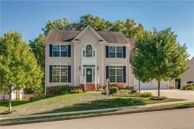 Chesterfield County Single Family Home For Sale: 3843 Silver Mews Lane