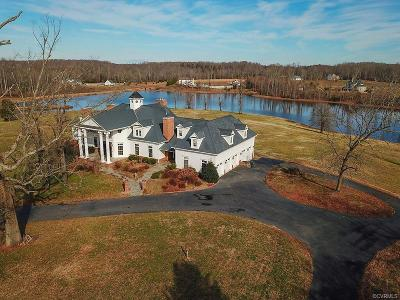 Powhatan County Single Family Home For Sale: 1960 Old Tavern Road