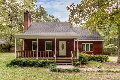 Dinwiddie Single Family Home For Sale: 1340 Ruffin Mill Road