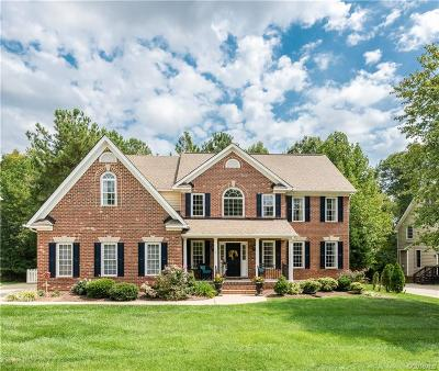 Chesterfield Single Family Home For Sale: 7636 Hampton Green Drive