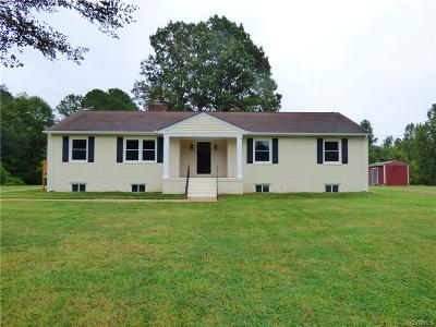 Hanover County Single Family Home For Sale: 16167 W W Patrick Henry Road Road