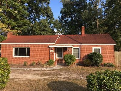 Chester Single Family Home For Sale: 9001 Carswell Street