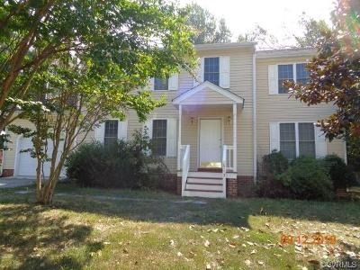 Chester Single Family Home For Sale: 513 N Trickling Creek Road
