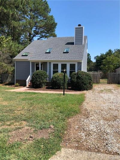 Chester Single Family Home For Sale: 9407 Fenestra Circle