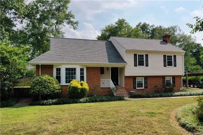 Midlothian Single Family Home For Sale: 11825 Winfore Drive