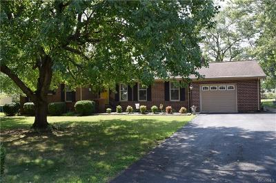 Hopewell Single Family Home For Sale: 3830 River Road