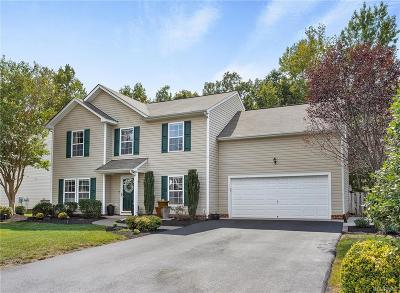 Chester Single Family Home For Sale: 7712 Fern Hollow Drive