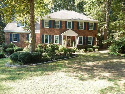 Chester Single Family Home For Sale: 14214 Chimney House Road