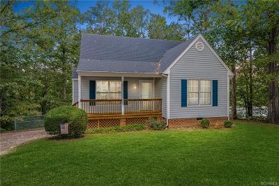 Dinwiddie Single Family Home For Sale: 3712 W Autumn Drive